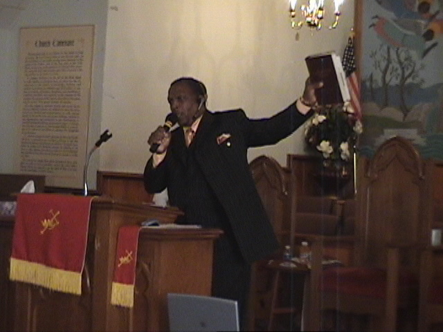 PASTOR DAVIS TEACHES ON THE BIBLE BEING OUR INSTRUCTION MANUAL