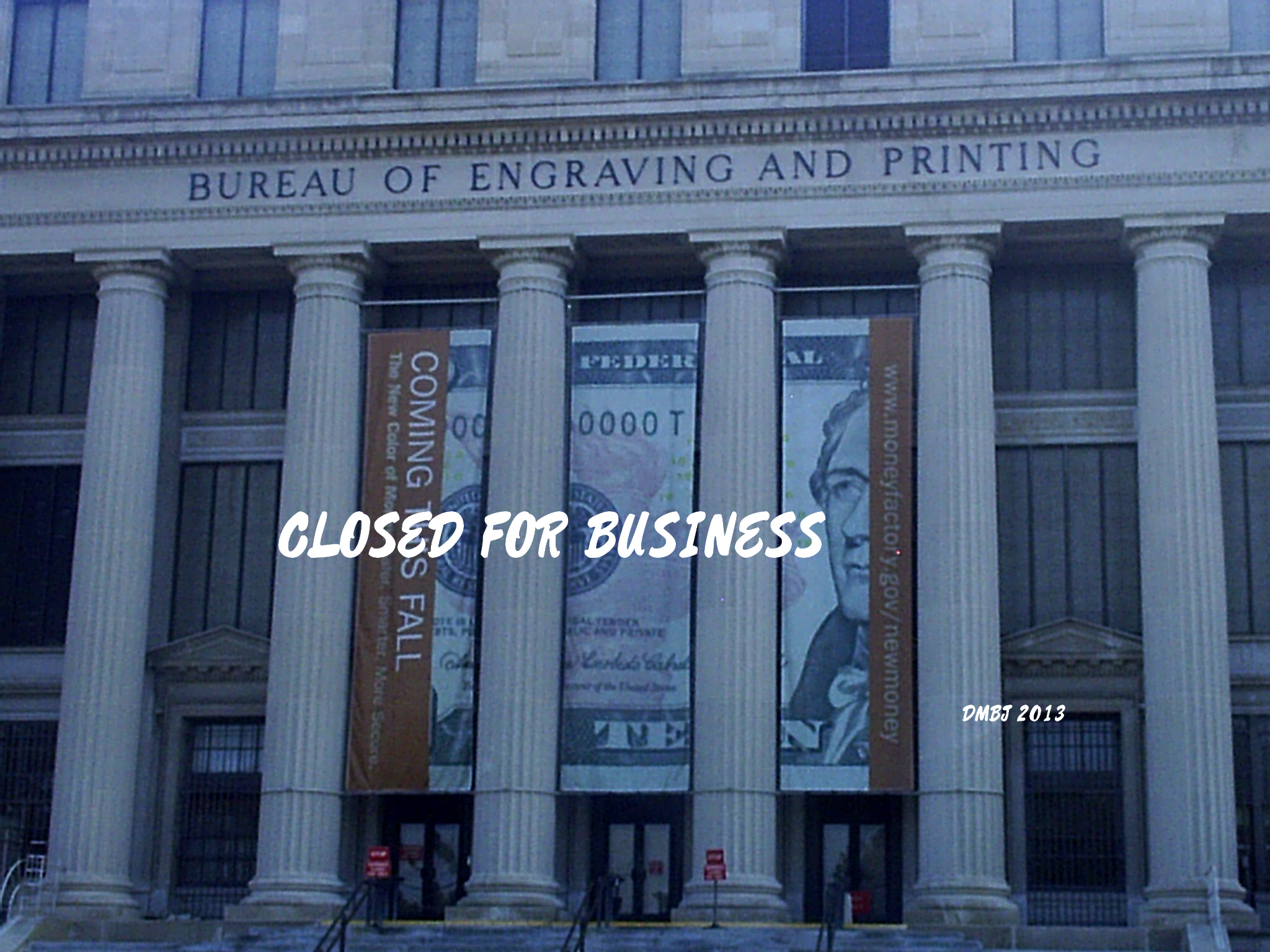 OUR GOVERNMENT PRINTING OFFICE CLOSED FOR BUSINESS (PHOTO BY PASTOR DAVIS)