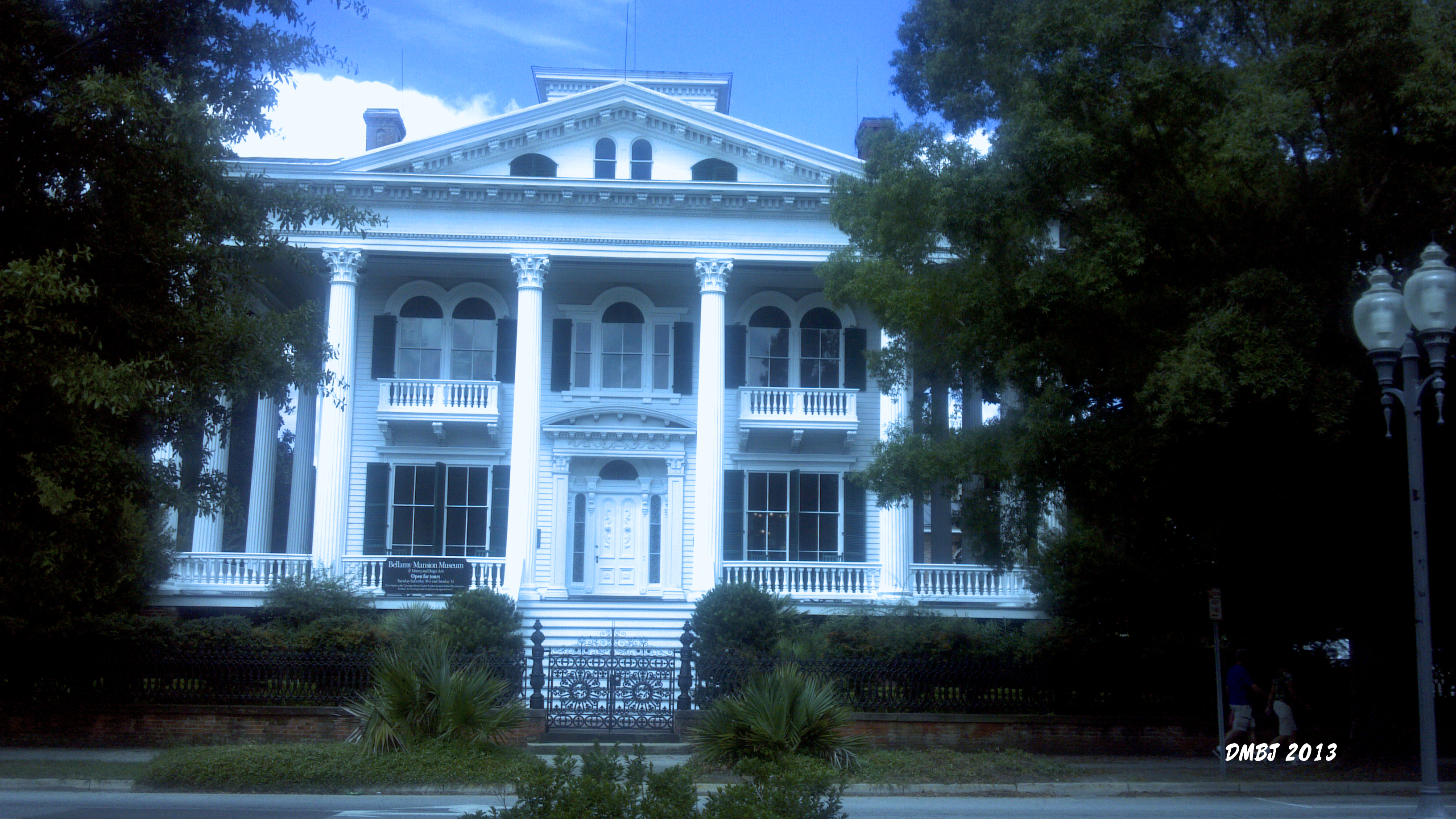 THE BELLAMY MANSION MUSEUM, WILMINGTON, N.C. (PHOTO BY PASTOR DAVIS)