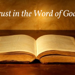 Trust in the Word of God