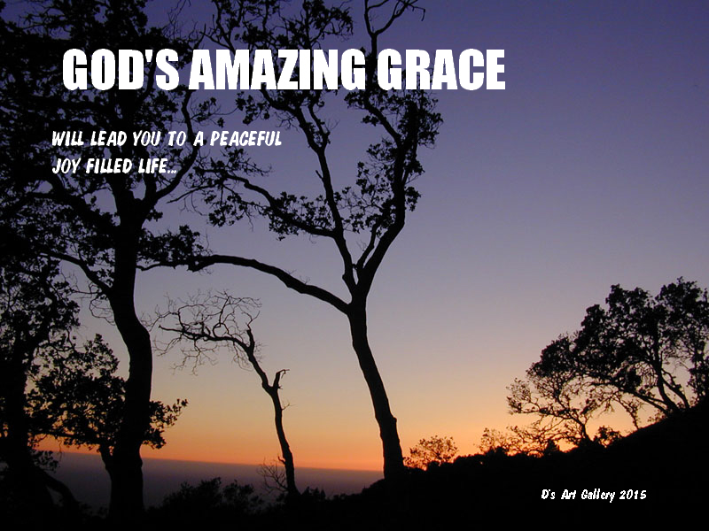 GOD'S AMAZING GRACE by Pastor Davis