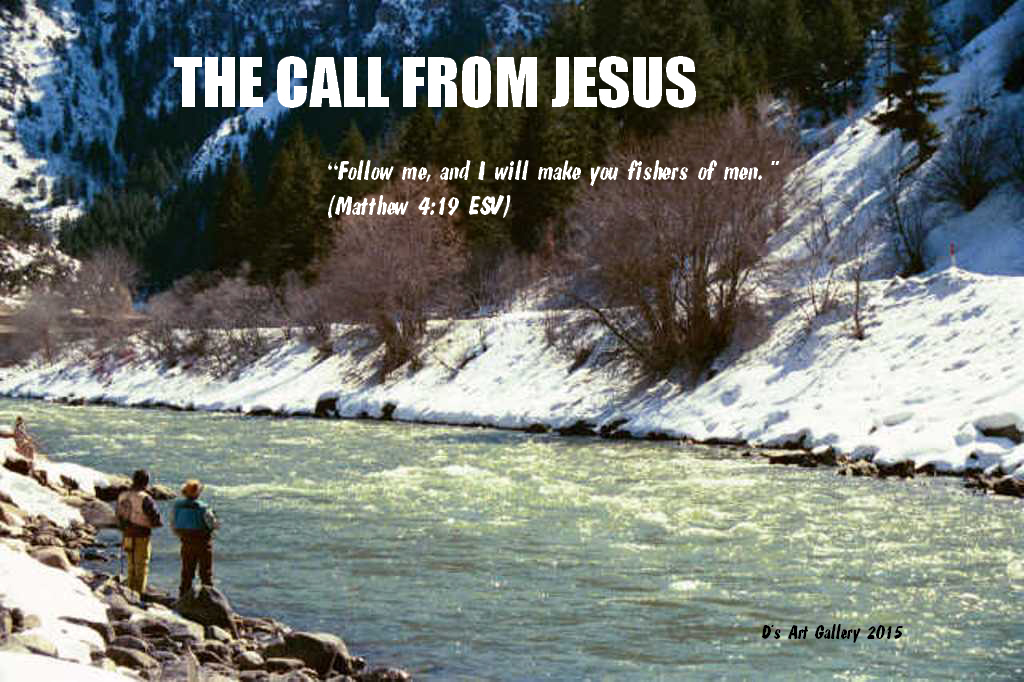 THE TWO FISHERMAN CALL FROM JESUS (Photo by Pastor Davis)