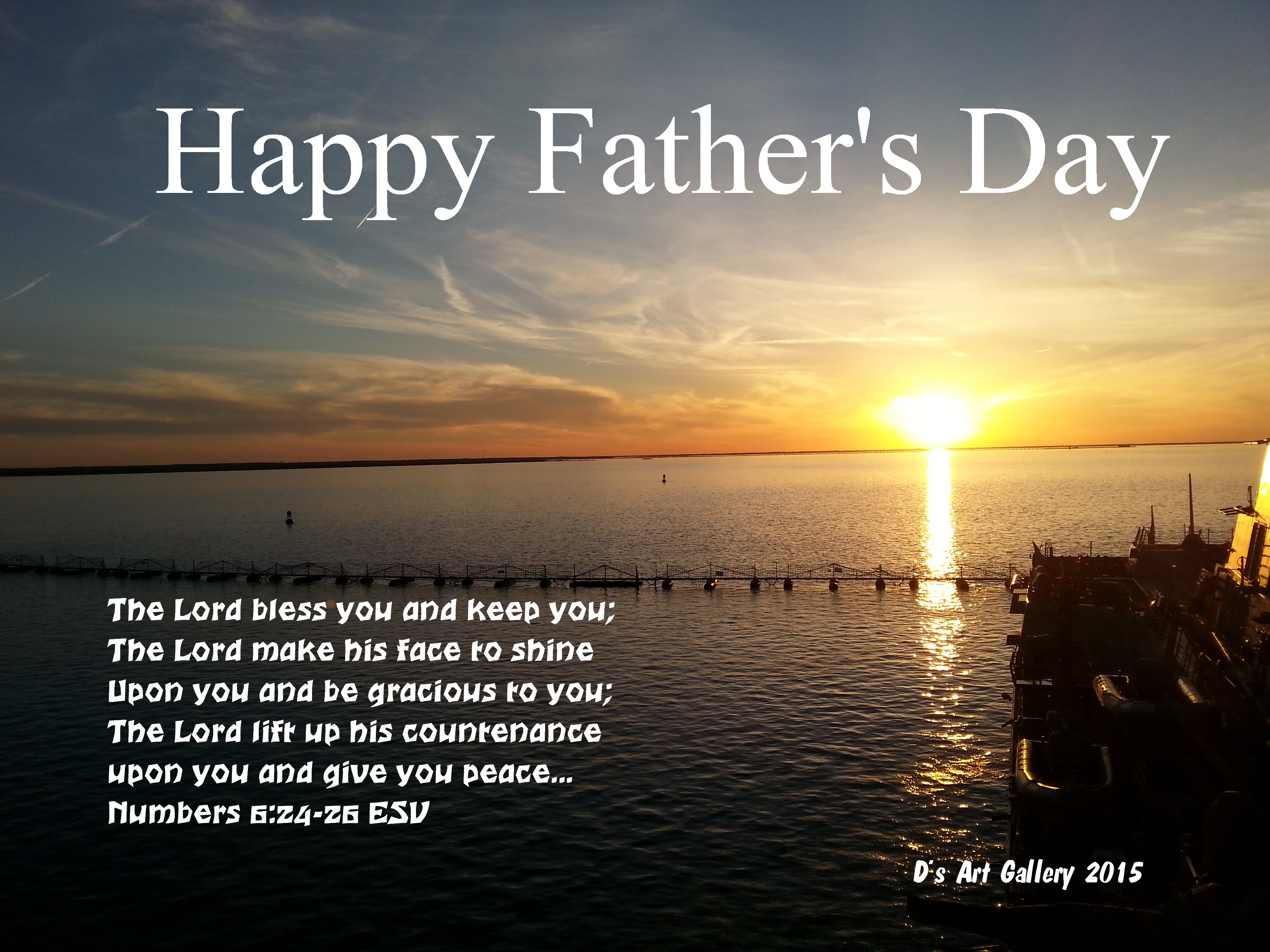 FATHER'S DAY BLESSING (Photo by Pastor Davis)